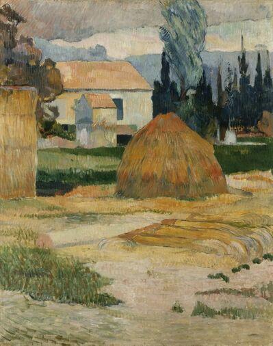 Paul Gauguin, 'Landscape Near Arles', 1888