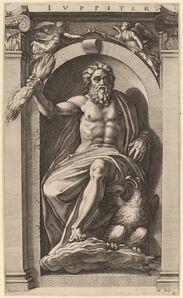 Hendrik Goltzius after Polidoro da Caravaggio, 'Jupiter', probably 1592