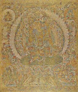 Yang Mian 杨冕, 'CMYK - Tang dynasty/Le bodhisattva Ruyilun Guanyin, 2019', 2020