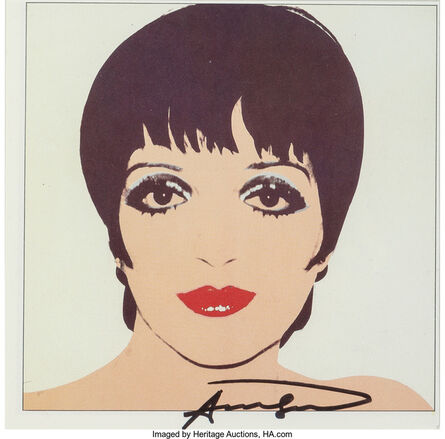 Andy Warhol, 'Liza Minelli', c. 1979