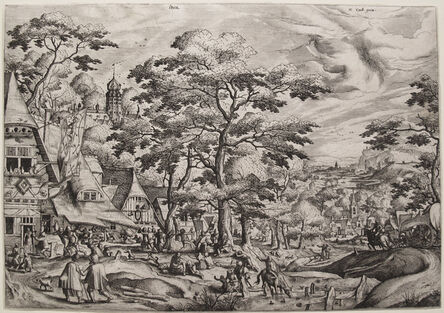 Hans Bol, 'Kermess (2nd State)', 1562