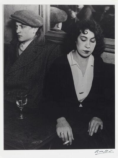 Brassaï, 'The Quarrel', 1932/1960s