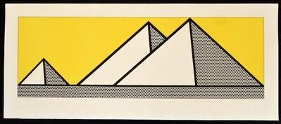 Roy Lichtenstein, 'Roy Lichtenstein 'Pyramids'', 1969