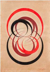 Antônio Maluf, 'Equação dos desenvolvimentos com circulos', 1951