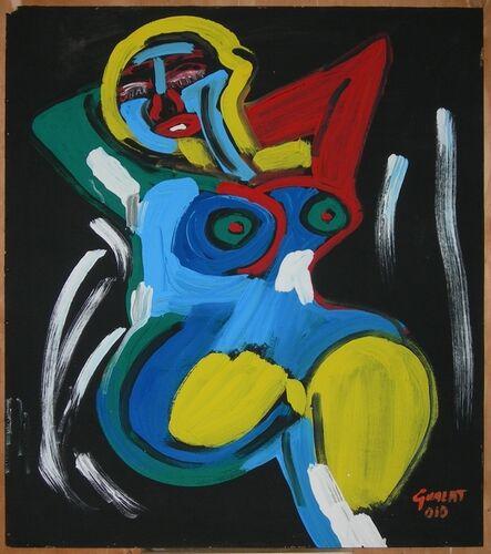 Maria Teresa Guala, 'Perdue dans ses pensées', 2010