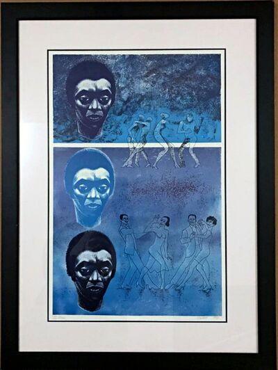 Elizabeth Catlett, 'Blues', 1983