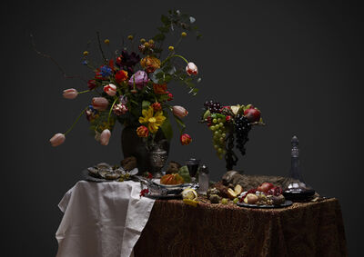 Red Saunders, 'Dutch Kitchen StillLife with Flowers', 2013