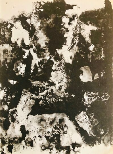 Francois Fiedler, 'Lithograph', 1961