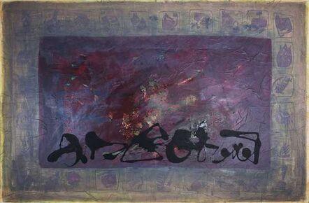 Christine Robion, 'Suite en Rouge sur fond de Journal Officiel', ca. 2012