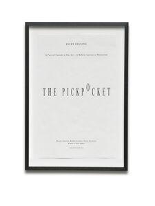 Janice Kerbel, 'The Pickpocket', 2013
