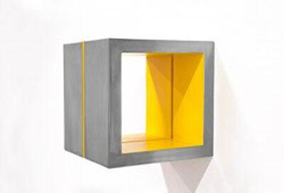 Arno Kortschot, 'Split Cube (Yellow)', 2015