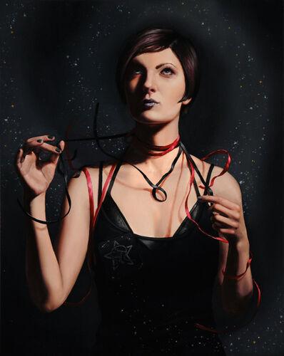 Rachel Bess, 'Sister of Mercy in Ribbons', 2011