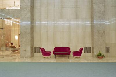 Vesna Pavlović, 'Seating Area with Fluorescent Reflection. Inside the Federal Executive Council Building, Belgrade, Serbia', 2003-2005