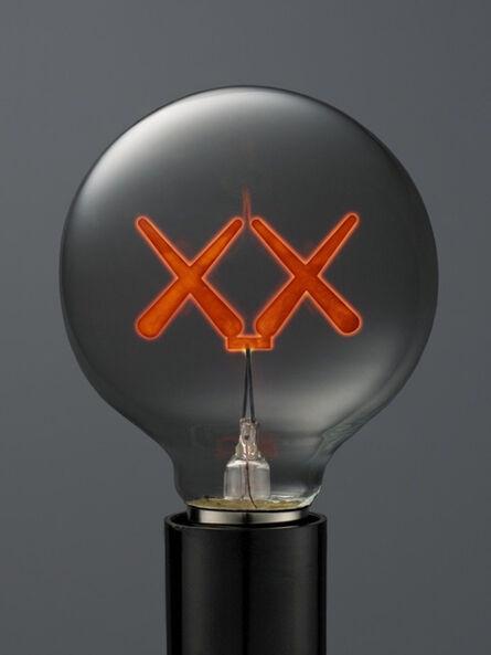 KAWS, 'KAWS X THE STANDARD LIGHT BULB RED', 2011