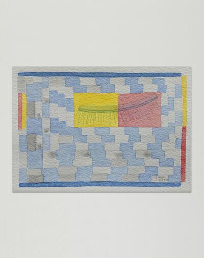 Jac Leirner, 'Eye Lashes with Surroundings', 2010