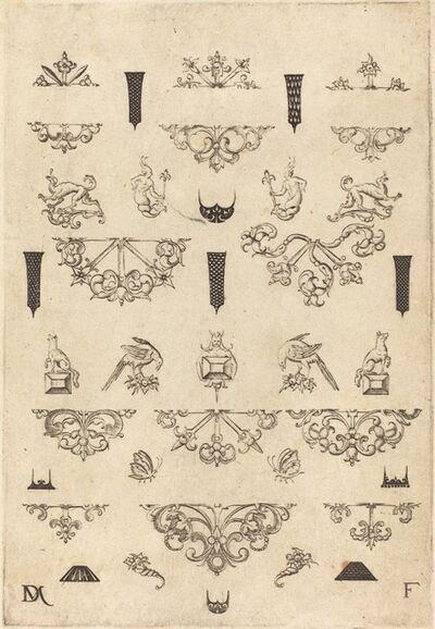 Daniel Mignot, 'Eleven Different Studs and Twenty-Three Ornaments', 1593