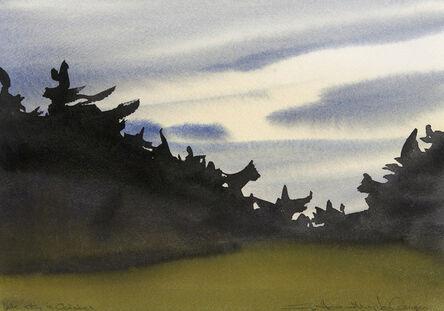 Susan Headley Van Campen, 'Late Sky in October'