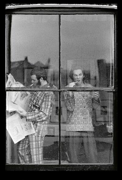 Jim Lee, 'Pyjamas, Brushing', 1971