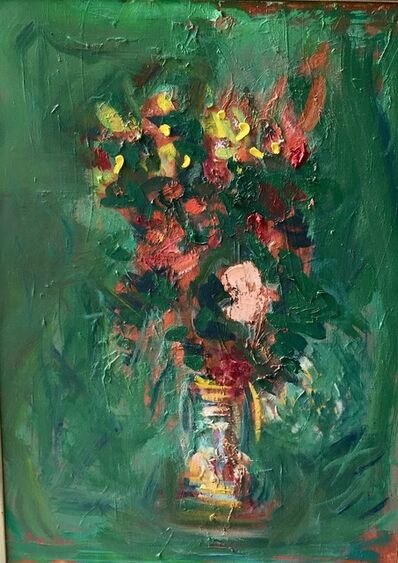 Paul Resika, 'Red and Yellow Flowers', 2013