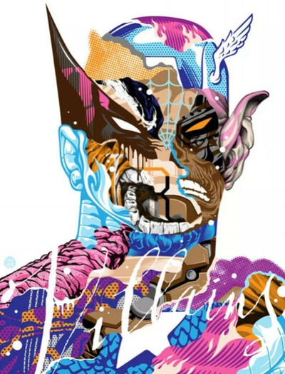 Tristan Eaton, 'Heroes Are Villains', 2014