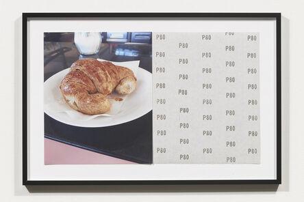Nicole Wermers, 'Croissants & Architecture #14', 2016