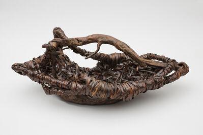 Nagakura Kenichi, 'Fruit Basket with Wood Handle', 2016