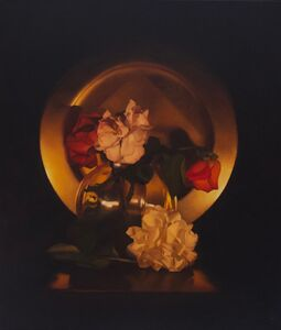 Chris Polunin, 'Flowers by Candlelight IV', 2020