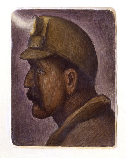 Diego Rivera, 'Untitled (Mural Study)', 1930-1931