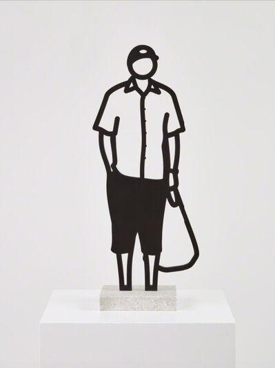 Julian Opie, 'Melbourne Statuettes –Plastic Bag', 2018