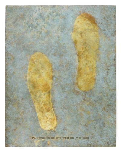 Yoko Ono, 'Painting to Be Stepped On (Bronze, cast of 1966 version)', 1988