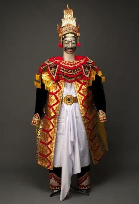 'Mask and costume for the character of Rama', 1994