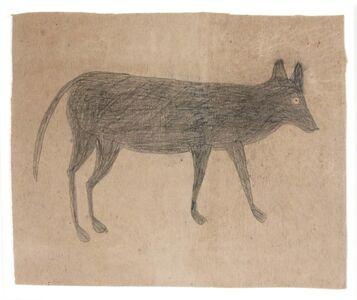 Bill Traylor, 'Female Dog'
