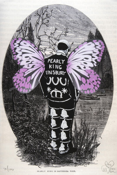 Pure Evil, 'Pearly King In Battersea Park', 2013