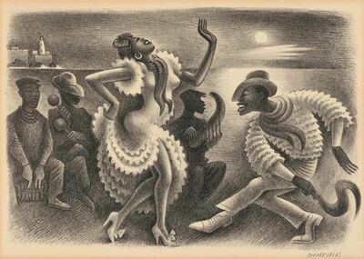 Miguel Covarrubias, 'RUMBA', 1942