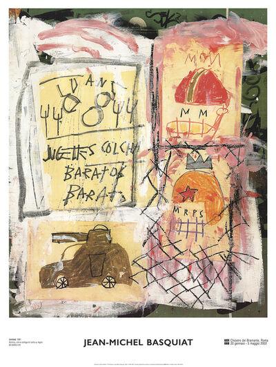 Jean-Michel Basquiat, 'Helmets', 2002