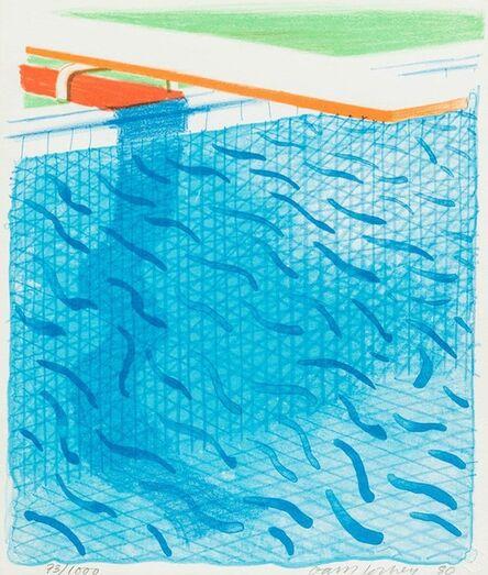 David Hockney, 'Paper Pools (1980) (signed)', 1980