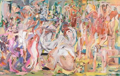 Cecily Brown, 'Untitled (The Beautiful and Damned)', 2013