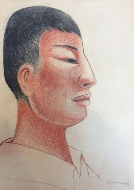 Diego Rivera, 'Portrait'