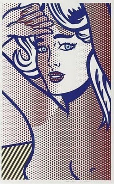 Roy Lichtenstein, 'Nude with Blue Hair, State I', 1994