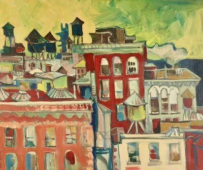 Jon Carsman, 'Watchtowers (New York City)', 1967