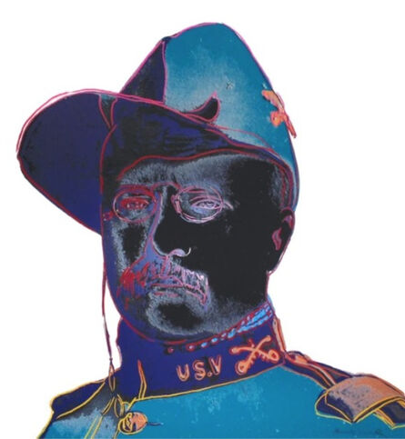 Andy Warhol, 'Teddy Roosevelt, from Cowboys and Indians, F.S. II 386', 1986