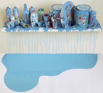 Jorge Magyaroff, 'Escenario Azul-Claro', 2014