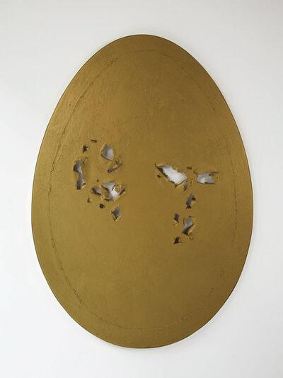 Gavin Turk, 'Holy Egg (Gold)', 2013