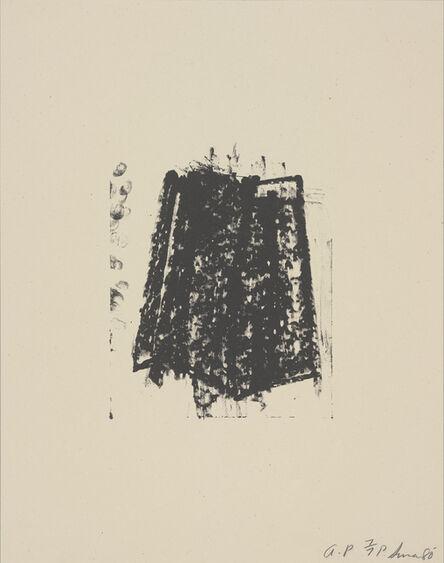 Richard Serra, 'Sketches: Sketch 1', 1981