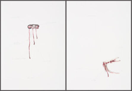 Mithu Sen, 'No Title 1, serie with two lithographs', 2013