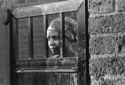 Peter Magubane, 'Winnie Madikizela-Mandela under house arrest at number 8115 Orlando West, Soweto', ca. 1969