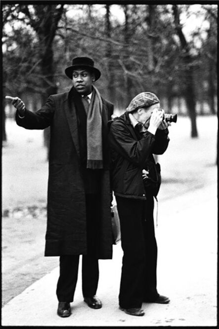 Arthur Elgort, 'Andre Leon Talley and Bill Cunningham, Paris', 1984