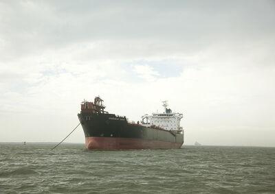 Victoria Sambunaris, 'Untitled (Oil Chemical Tanker, Overseas Tampa, USA), Houston Ship Channel, Texas', 2015
