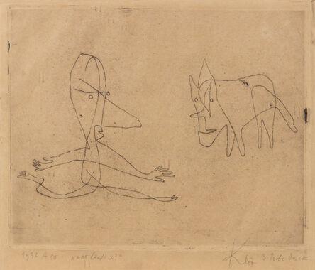 Paul Klee, 'Was lauft er?', 1932