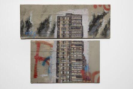 David Hepher, 'Study (Diptych)', 1993
